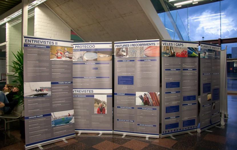 Disseny Exposició Ciència i Esports Nàutics (2010)