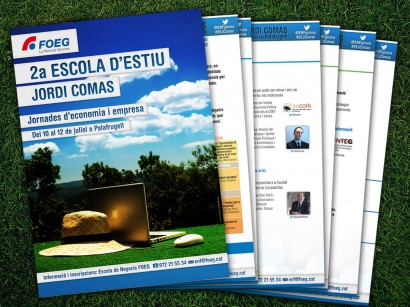Disseny 2a Escola Estiu Jordi Comas FOEG (2013)