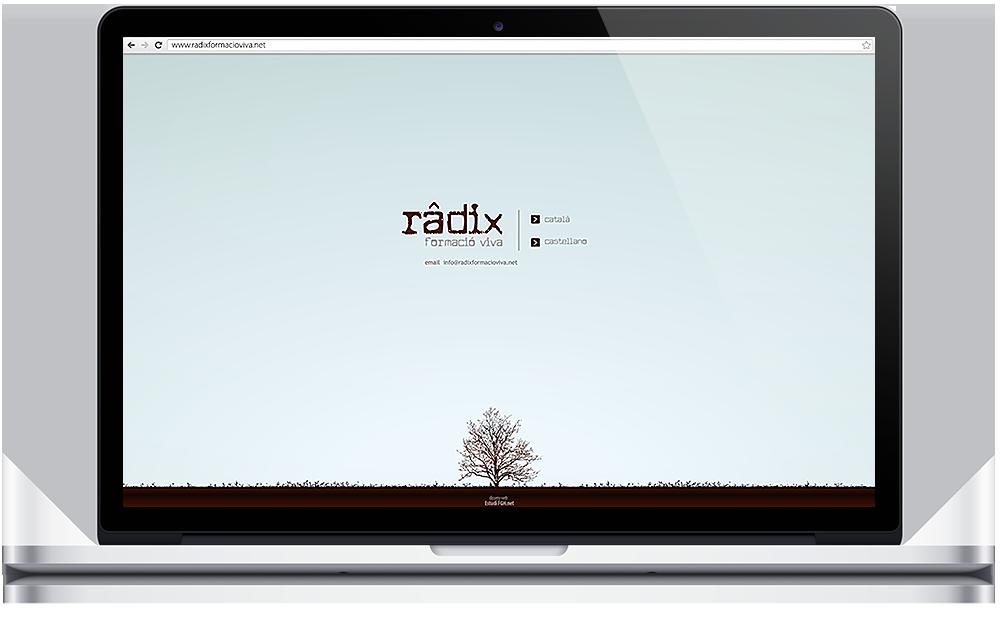 Web www.radixformacioviva.net (2010)