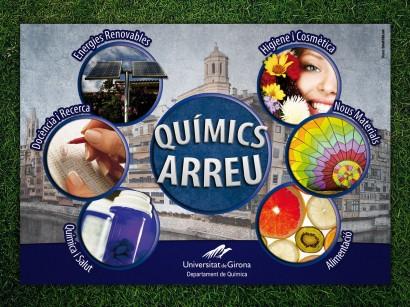 Disseny Flyer Químics Arreu (2012)