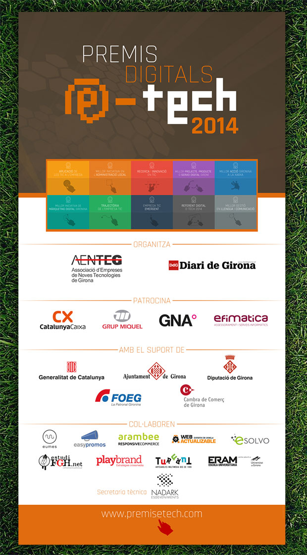 Disseny Premis e-Tech AENTG (2015)